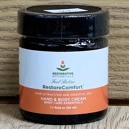 Restorative Botanicals RestoreComfort Hand & Body Cream - 1.7oz 100mg