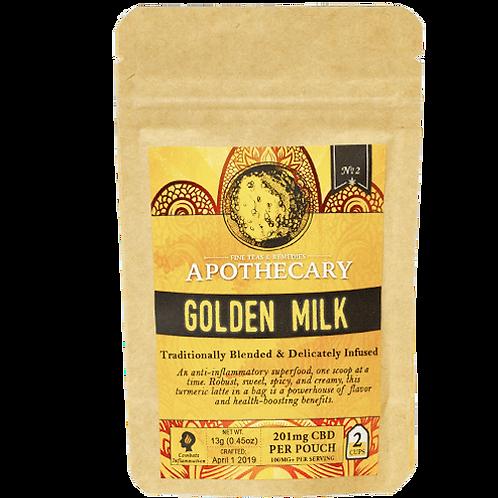Apothecary Powder Drink Mix, Golden Milk, 201mg