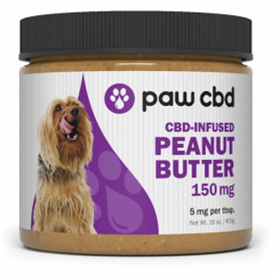 cbdMD Pet CBD Peanut Butter for Dogs - 150 mg - 16 oz