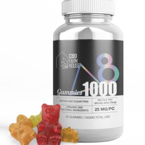 CBD Farmhouse Delta-8 Gummies - 1000 mg