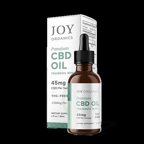 Joy Organics Tranquil Mint Tincture - 1350 mg