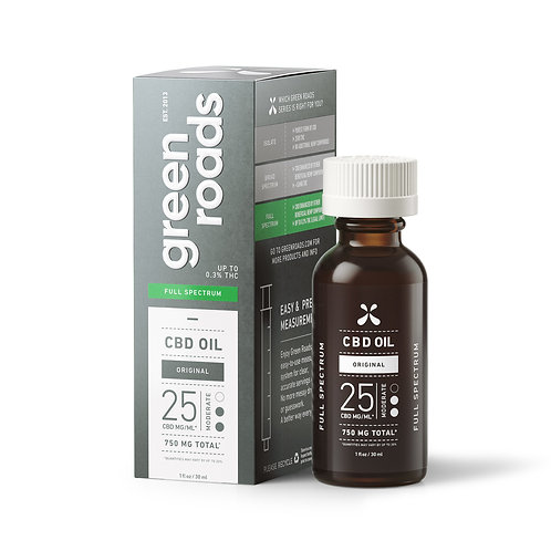 Green Roads Moderate CBD Oil - 750mg