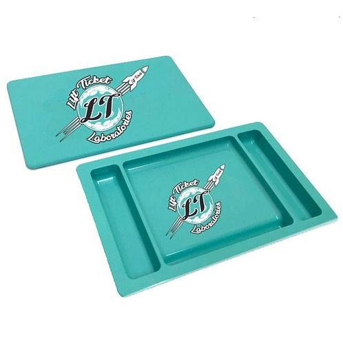 Lift Ticket Laboratories Rolling Tray - Aqua