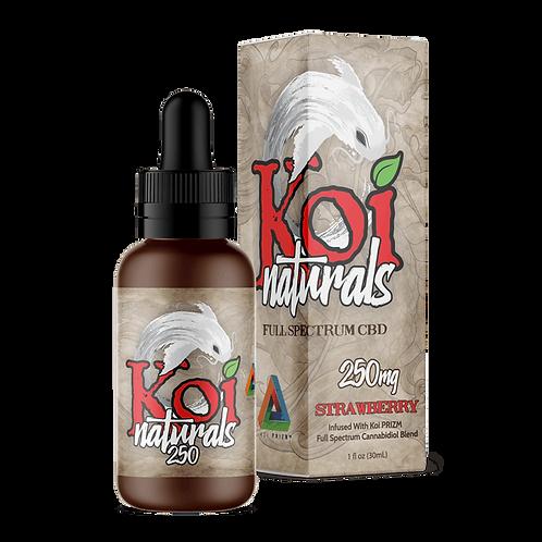 Koi Naturals 250mg Tincture Strawberry