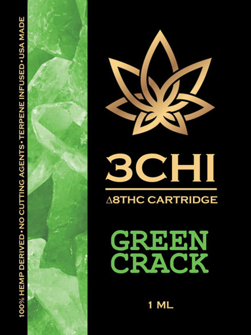 3Chi Delta-8 Vape - 950 mg (Green Crack)