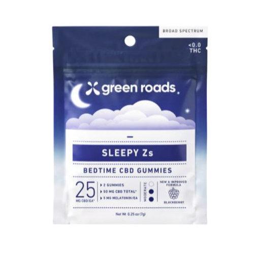 Green Roads Sleepy Z's On the Go Gummies - 50 mg