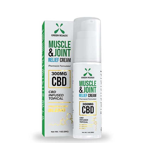 Green Roads Muscle & Joint Cream 300mg