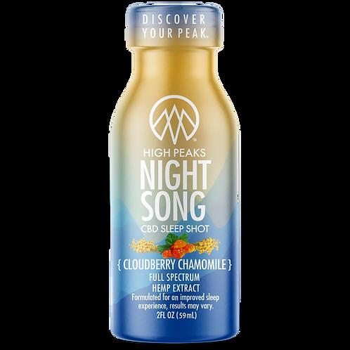 High Peaks Nightsong Sleep Shot
