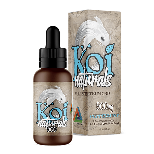 Koi Naturals 500mg Tincture Peppermint