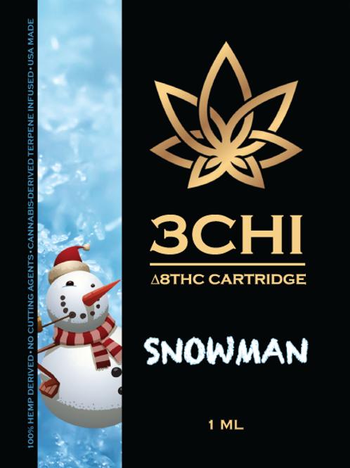 3Chi Delta-8 Vape - 950 mg, Snowman (CDT)