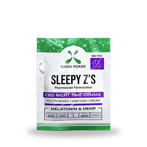 Green Roads 50mg Sleepy Z Gummies