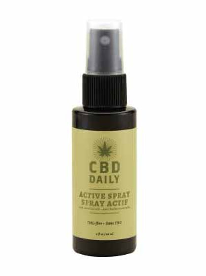 CBD Daily Active Spray - 2oz 60mg