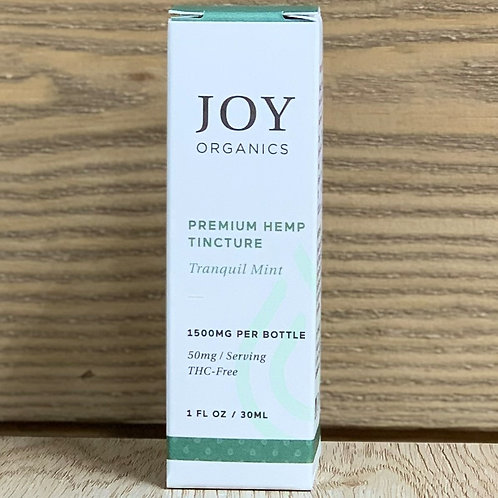 Joy Organics Tranquil Mint Tincture - 1oz 1500mg
