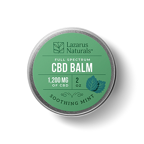 Lazarus Naturals 2oz Balm 1,200mg - Soothing Mint
