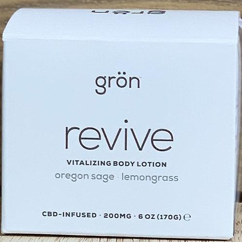 Gron Revive Vitalizing CBD Body Lotion