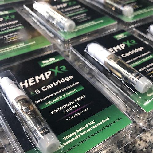 Hemp Xr Delta-8 vape, 900 mg, Strawnana