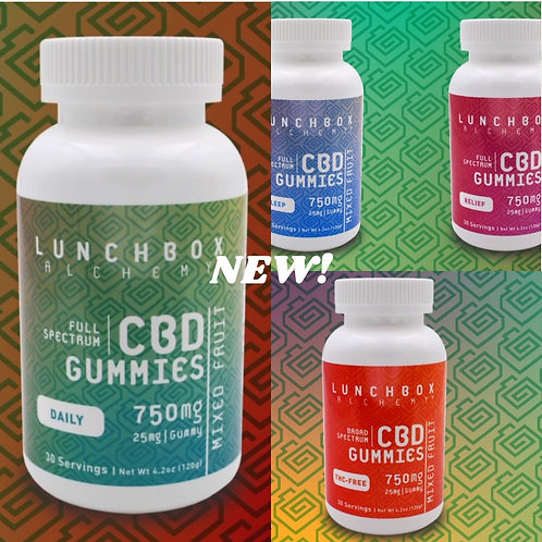 Lunchbox Alchemy CBD Gummies Daily 750mg