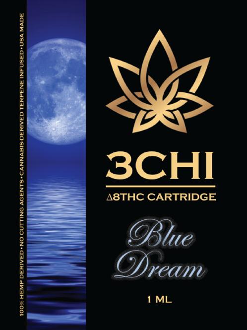 3Chi Delta-8 Vape - 950 mg, Blue Dream(CDT)