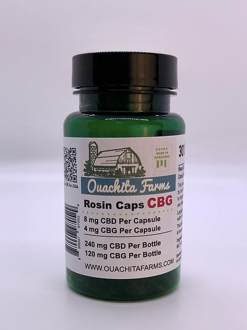 Ouachita Farms Rosin Caps, CBG 30 ct