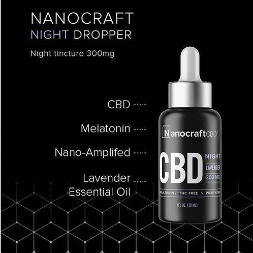Nanocraft NIGHT CBD Oil 300mg 1oz