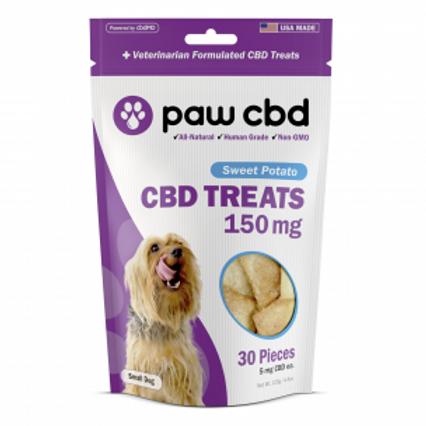 Paw CBD Pet Treats - 150 mg - Sweet Potato