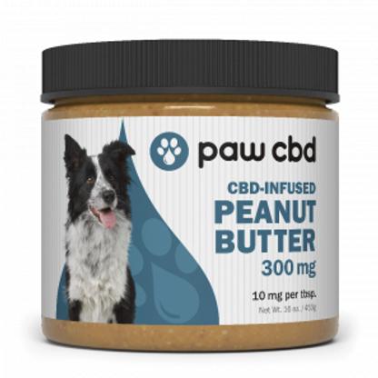 cbdMD Pet CBD Peanut Butter for Dogs - 300 mg - 16 oz