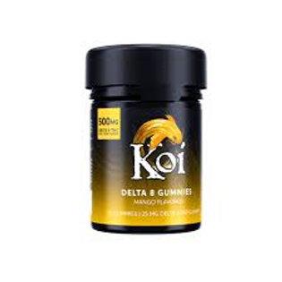 Koi Delta-8 Gummies (500 mg), Mango