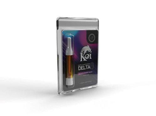 Koi Delta-8 Vape Cartridge (1 gram), Blackberry Kush