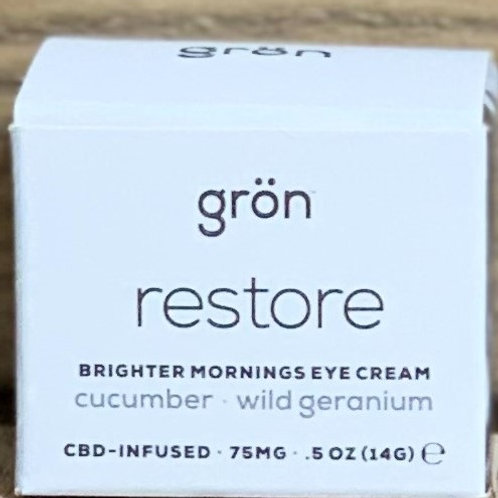 Gron Restore Brighter Morning Eye Cream