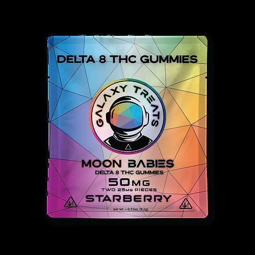 Galaxy Treats Delta-8 Gummies, Starberry