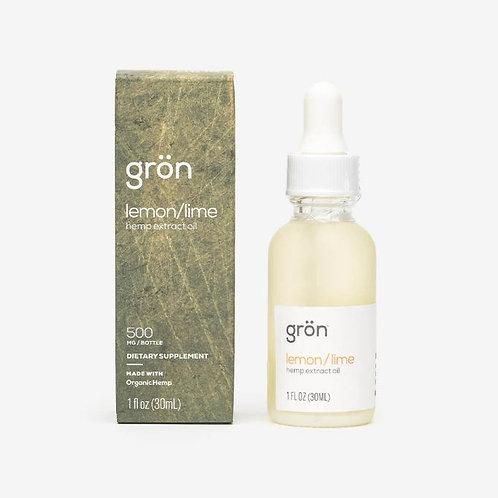 Gron Lemon/Lime Tincture - 1oz 500mg