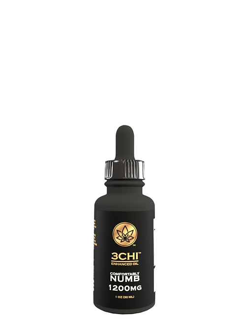 3Chi Comfortably Numb Tincture (Delta 8, CBN, CBD) - 1200 mg