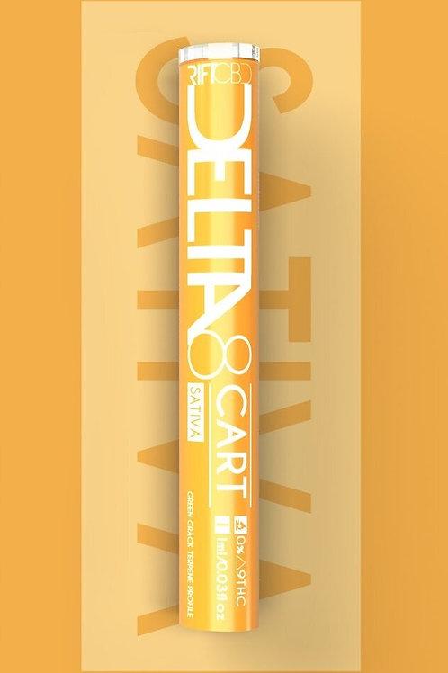 Rift Delta-8 Vape Cartridge (950 mg), Green Crack