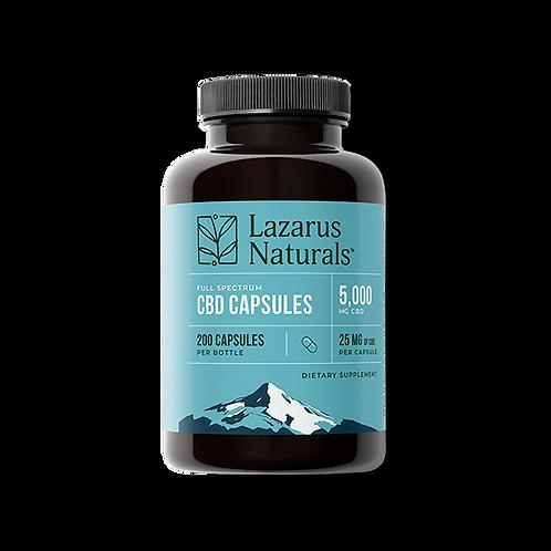 Lazarus Naturals 25mg CBD Capsules - 200ct 5,000mg