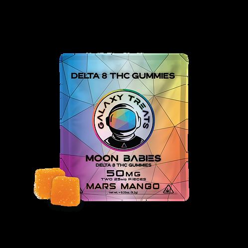 Galaxy Treats Delta-8 Gummies, Mars Mango