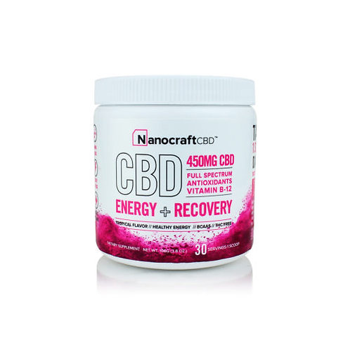 Nanocraft Recovery Powder 450mg 3.8oz