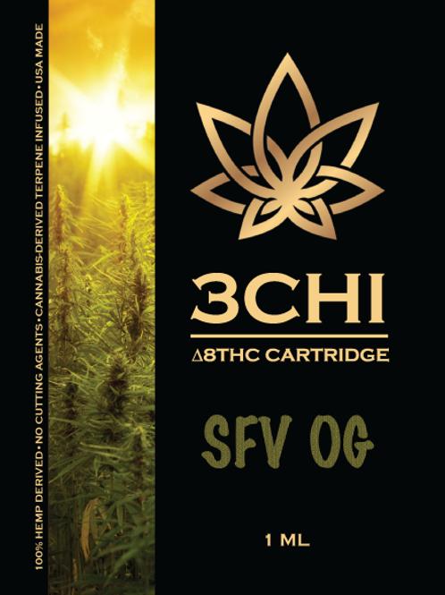 3Chi Delta-8 Vape - 950 mg, SFV OG