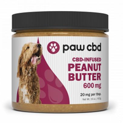 cbdMD Pet CBD Peanut Butter for Dogs - 600 mg - 16 oz