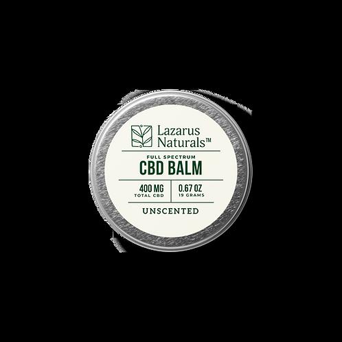 Lazarus Naturals Full Spectrum CBD Balm - 400 mg - Unscented