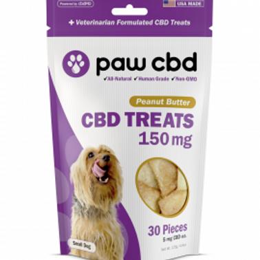Paw CBD Pet Treats - 150 mg - Peanut Butter