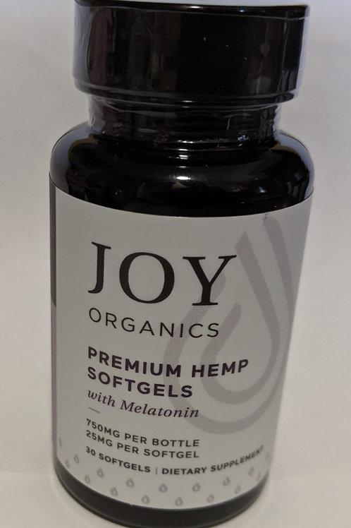Joy Premium Grade CBD + Melatonin Capsules - 30ct 750mg
