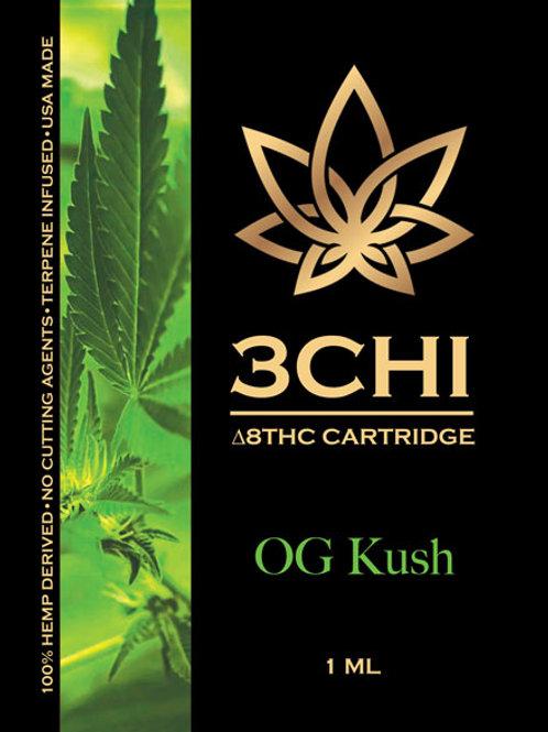 3Chi Delta-8 Vape - 950 mg (OG Kush)