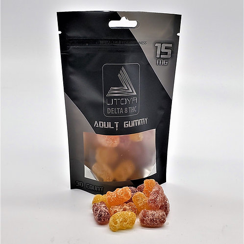 Utoya Delta 8 THC Adult Gummies, 450 mg (15 mg bears)
