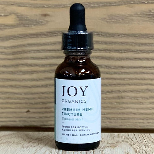 Joy Organics Tranquil Mint Tincture - 1oz 250mg