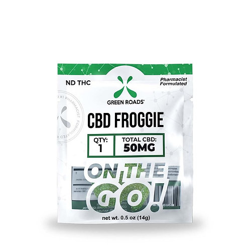 Green Roads CBD Froggies 50mg Singles