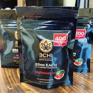 3Chi Delta-8 Gummies - 400 mg, Watermelon