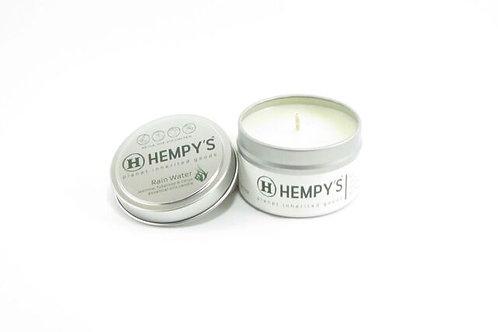Hempys Scented Hemp Candle - Rain Water