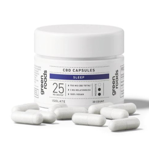 Green Roads CBD Sleep Capsules - 750 mg