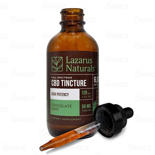 Lazarus Naturals High Potency Chocolate Mint 4oz 6000mg