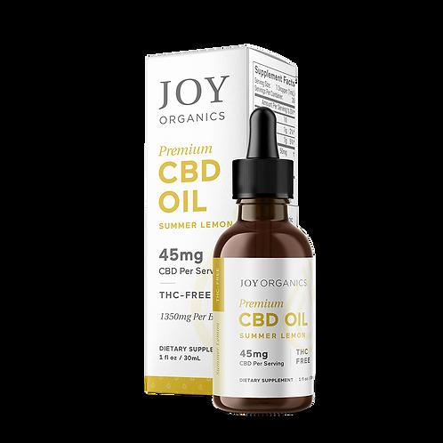 Joy Organics Summer Lemon Tincture - 1350 mg